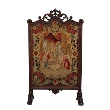 antique screens vintage screens on the highboy