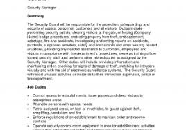 security guard incident report example and best photos of security
