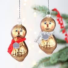 mr and mrs peanut baubles christmas lisa angel