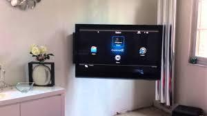 meuble elevateur tv support tv motorisé plasma control4 domotique www avmd france com