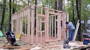 How To Build A Small Shed by Survival Projects Diy Small Cabin Survivopedia