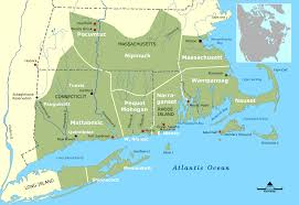 New England Map by Early Indian Wars In New England U2013 Access Genealogy