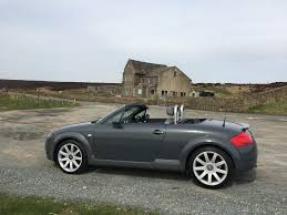 2002 51 audi tt roadster u2013 225 bam u2013 rare nimbus grey u2013 full