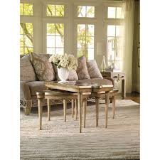 Hooker Dining Room by Hooker Furniture 3013 50001 Sanctuary Mirrored L R Bunching Tables