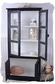 vitrine pour cuisine nostalgie étagère bibliothèque vitrine meuble de cuisine vaisselier