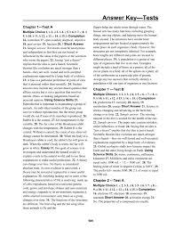 answer key u2014tests u2022 chapter 29