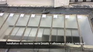 vitrage toiture veranda vitrier paris pose verrière de toit www paris vitrier service fr