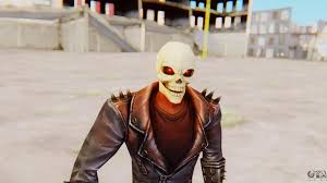 ghost rider mask costume marvel future fight ghost rider for gta san andreas