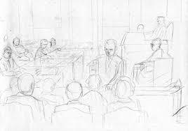 final courtroom sketch art top shelf productions