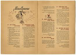 thanksgiving menu for two world war ii u201chelping the homemaker make the most out of the