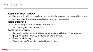 incident command table top exercises incident command the far side of the edge