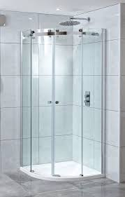1200mm Shower Door by Phoenix Frameless 8mm Twin 1200mm X 900mm Offset Quadrant