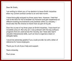 resignation letter how to write a immediate resignation letter