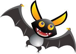 cute cartoon bat clipart
