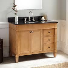 42 marilla oak vanity bathroom