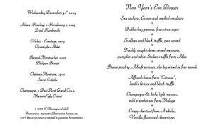 cuisines et vins cuisines et vins de 1 year 2014 menu with wines