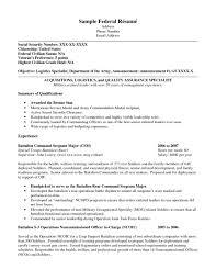 ksa resume examples federal resume examples