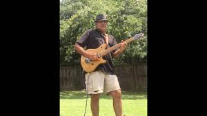louie linguini backyard guitar video
