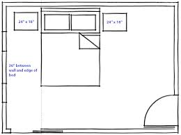 28 standard nightstand height nightstand dimensions