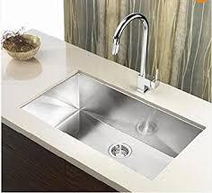 stainless steel kitchen sink cabinet 30 premium zero radius single bowl undermount 16 gauge stainless