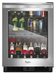 under cabinet beverage refrigerator 24 inch wide undercounter beverage center with dual temperature