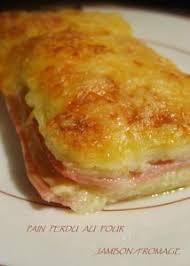 recette cuisine perdu salé perdu jambon fromage au four tag ma cuisine du placard
