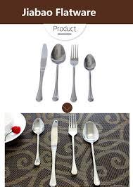 silver modern flatware sets elegant 18 10 stainless steel spoon