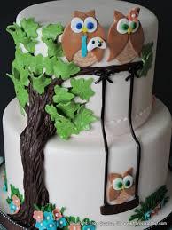 owl baby shower cake cakecentral com