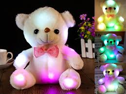 teddy delivery shining led teddy with fee delivery consignmenter