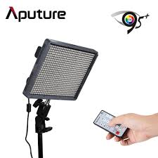 remote audio video lighting aputure amaran al hr672w led video light panel with remote control