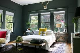 paint talk unifying a room with one wall and trim color