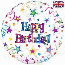 birthday ribbons birthday ribbons helium balloon