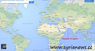 Doha Qatar Map Qatar To Invade Syria Militarily Qatari Minsiter Syria News