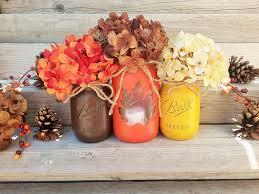 fall jars fall jar decor lighted jars for