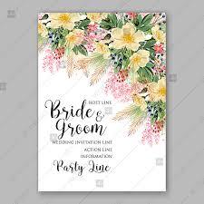 anemone sakura spring watercolor flower wedding invitation floral
