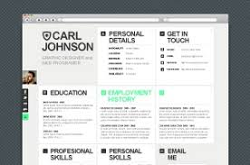resume website template premium and free web html resume template pixeden