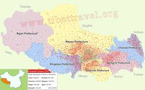 China Political Map by Tibet Political Map Tibet Location Demographics