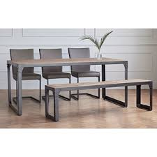 dining table and bench set dining table bench and chairs wayfair co uk