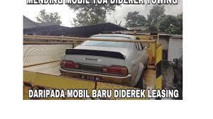 Meme Mobil - meme otomotif balada mobil ditarik leasing otomotif liputan6 com