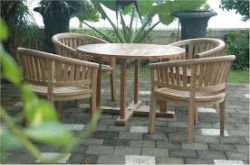 Teak Outdoor Dining Tables Anderson 47