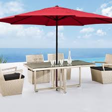 12 Foot Patio Umbrella Patio Colored Umbrella Canopy Umbrella Stand Without