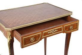 bureau style louis xvi louis xvi style bureau plat 19th century c 1890