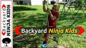 Backyard Ninja Warrior Course Backyard Ninja Kids Viyoutube Com