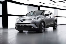 crossover toyota toyota delayed c hr subcompact crossover for tnga platform photo