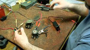 how to test a marine solenoid for a starter and a choke fix your