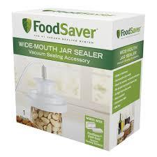amazon com foodsaver wide mouth jar sealer food saver mason jar