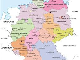 Landstuhl Germany Map by Download Map Denmark Germany Major Tourist Attractions Maps