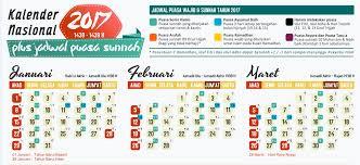 kalender puasa sunnah 2017 jadibaru