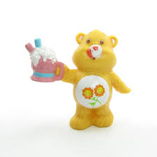 friend bear sharing soda care bears miniature figurine