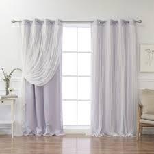 Pastel Purple Curtains Purple Curtains U0026 Drapes You U0027ll Love Wayfair
